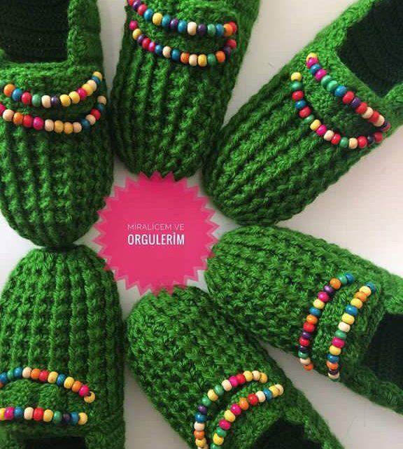 zapatilla navidad crochet-otakulandia.es (1)
