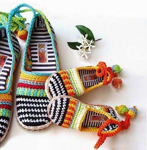 zapatilla navidad crochet-otakulandia.es (17)