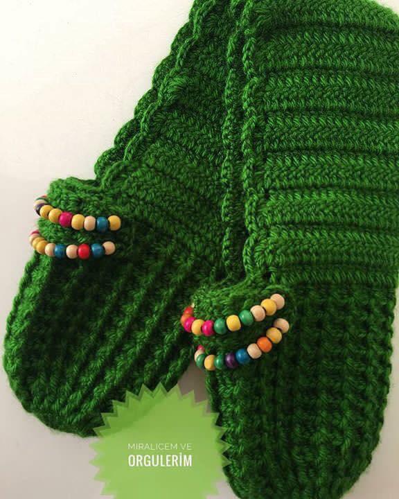 zapatilla navidad crochet-otakulandia.es (2)