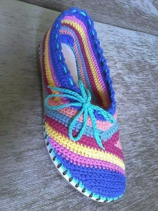 zapatilla navidad crochet-otakulandia.es (23)