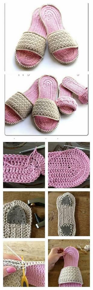 zapatilla navidad crochet-otakulandia.es (4)