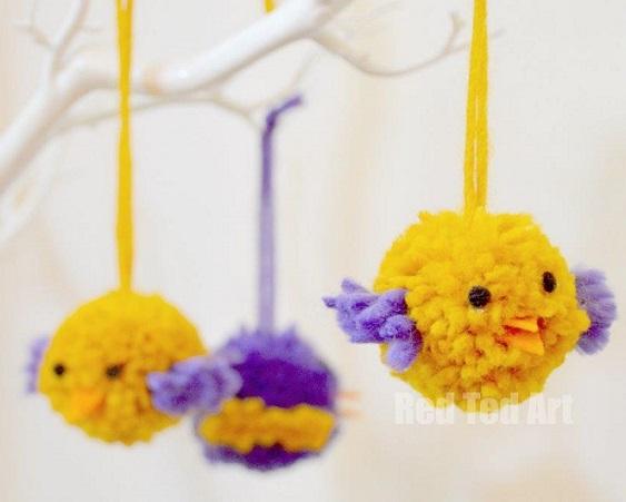 animalitos pompones-decoracion pompones-otakulandia.es (21)
