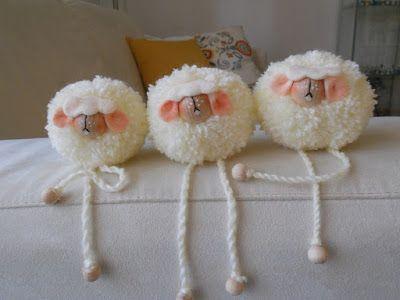 animalitos pompones-decoracion pompones-otakulandia.es (34)