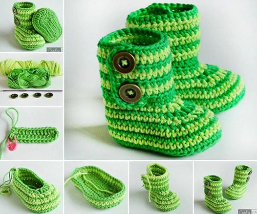 botitas bebe crochet-foto tutorial-otakulandia.es (1)