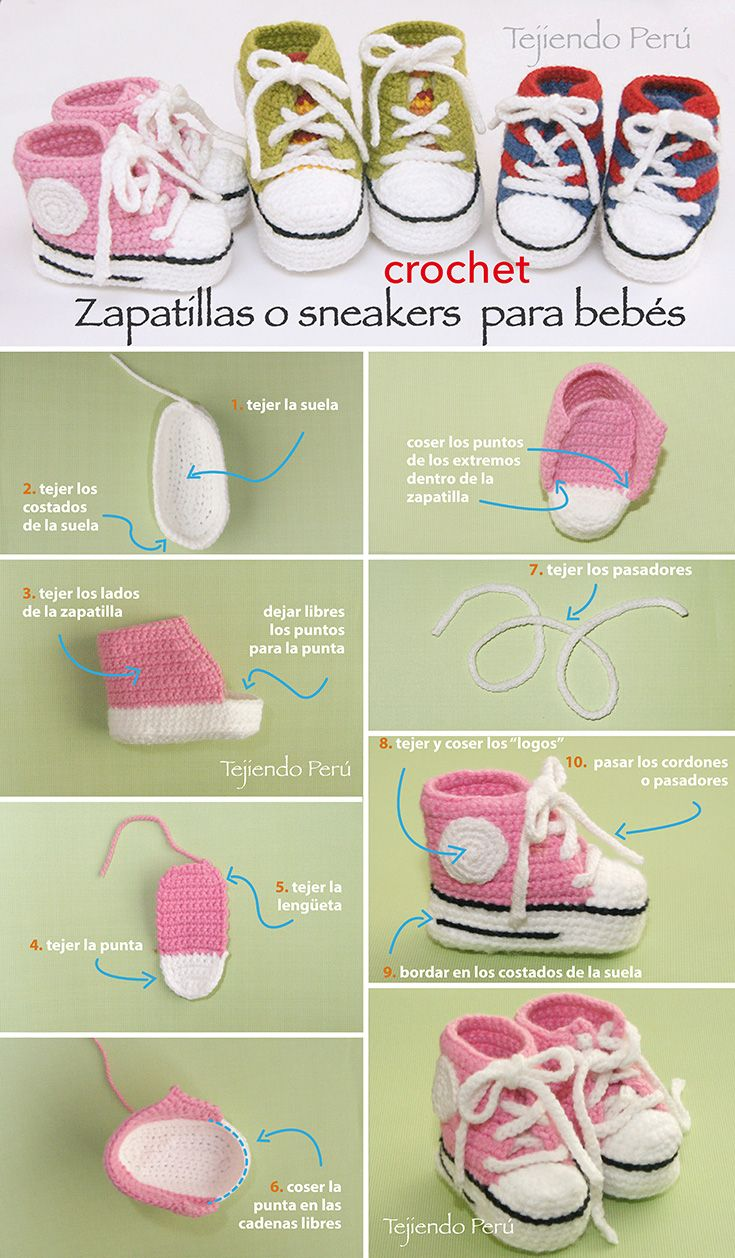 botitas bebe crochet-foto tutorial-otakulandia.es (2)