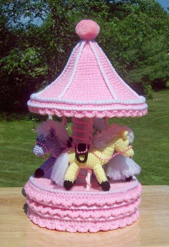 carrusell crochet-juguete-otakulandia.es (2)