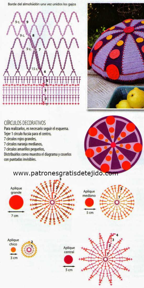 cojin original redondo crochet-patron-otakulandia.es (3)