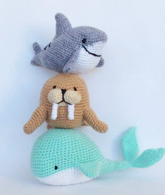 criaturas marinas crochet-otakulandia.es (5)