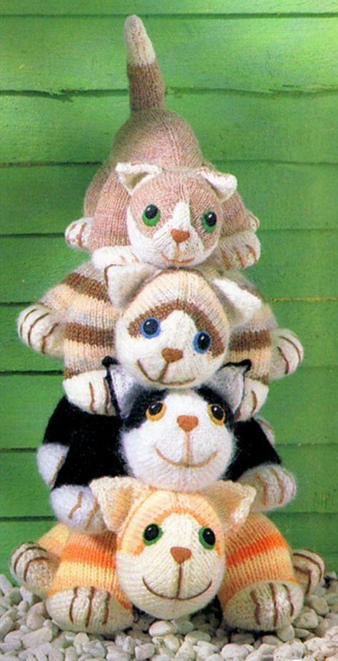 gato amigurumi 2 agujas-otakulandia.es (4)
