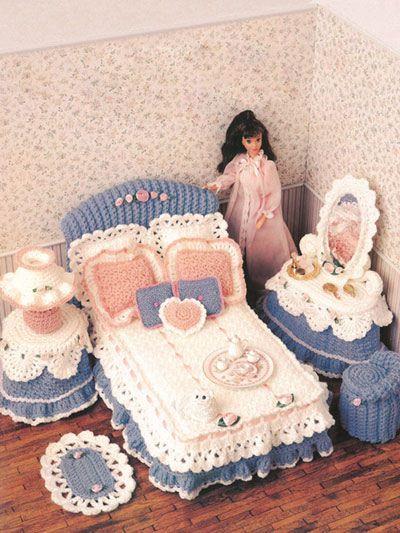 miniaturas crochet-casa munecas-otakulandia.es