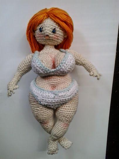 mujeres corrientes-gorditas-crochet-amigurumis-otakulandia.es (10)