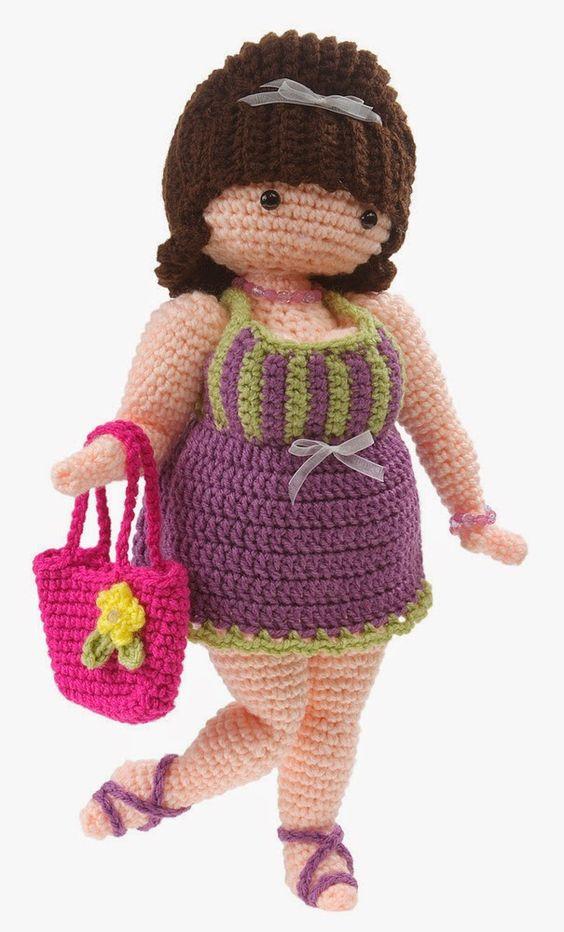 mujeres corrientes-gorditas-crochet-amigurumis-otakulandia.es (8)