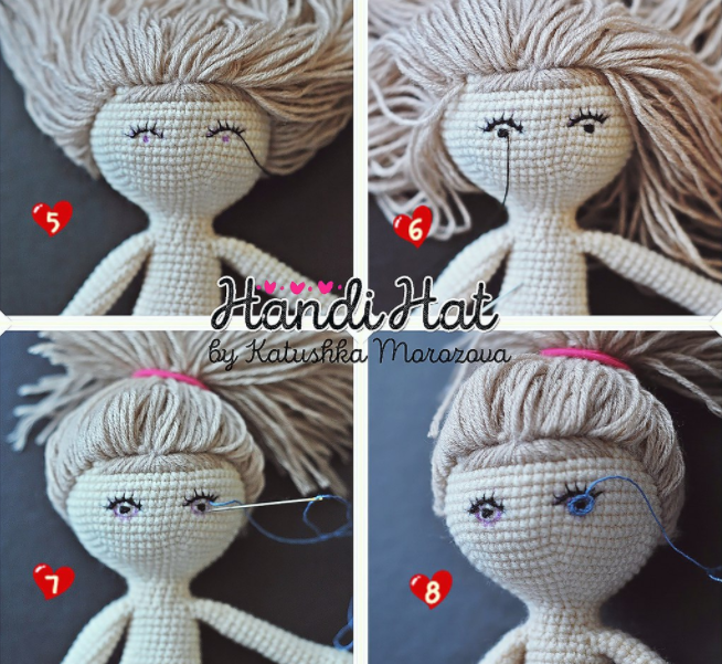ojos muneca crochet-tutorial-otakulandia.es