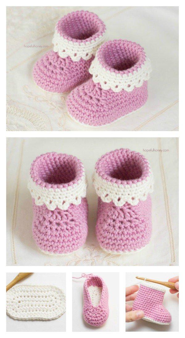 patucos bebe crochet-esquema-otakulandia.es  (1)