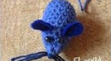 ratoncito crochet-paso a paso-otakulandia.es