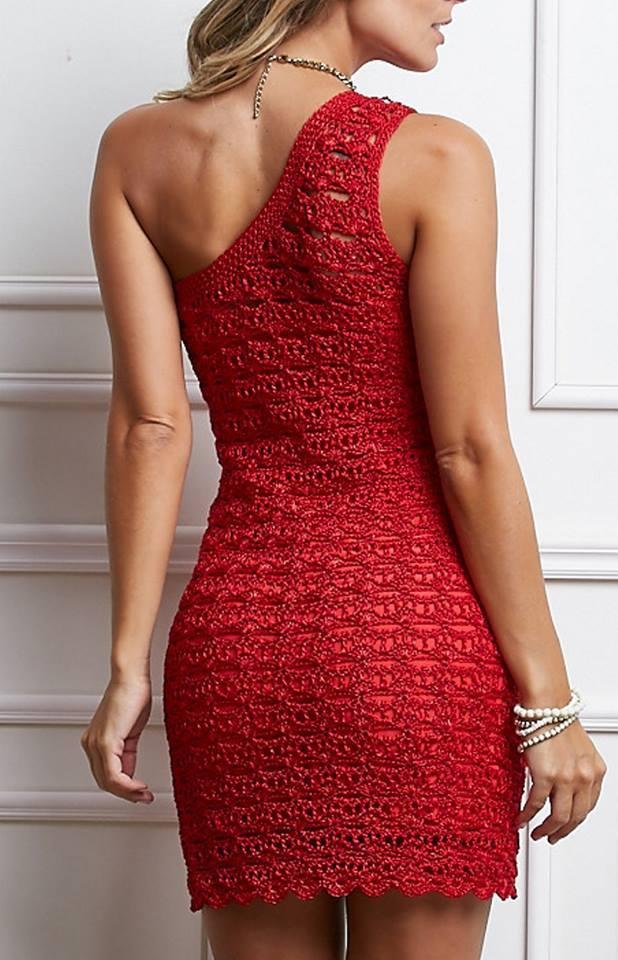 vestido rojo un hombro crochet-esquema-patron-otakulandia.es (2)