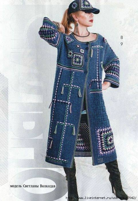 abrigo senora grannys crochet-otakulandia.es
