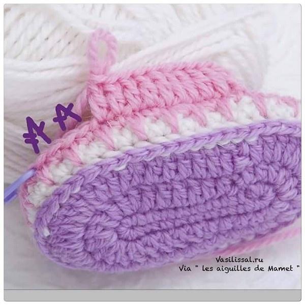 adorables botitas bebe-paso a paso-crochet-otakulandia.es (18)