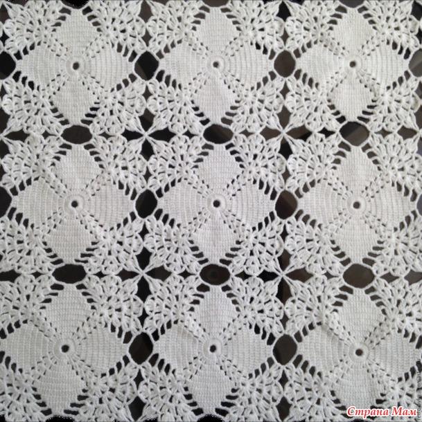colcha crochet estrellas-graficos-otakulandia.es