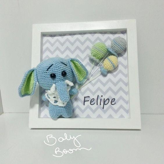 cuadro crochet regalo bebe-otakulandia.es (17)