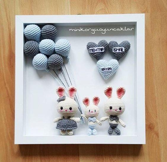 cuadro crochet regalo bebe-otakulandia.es (19)