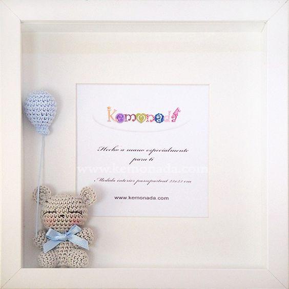 cuadro crochet regalo bebe-otakulandia.es (2)