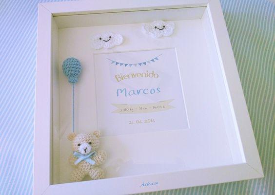cuadro crochet regalo bebe-otakulandia.es (20)