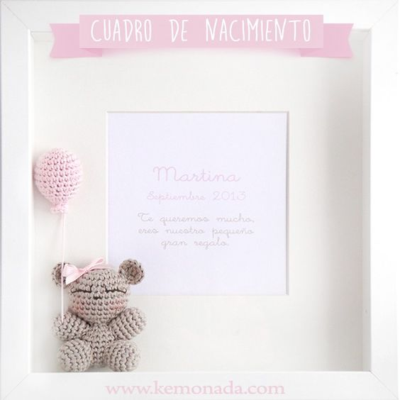 cuadro crochet regalo bebe-otakulandia.es (22)
