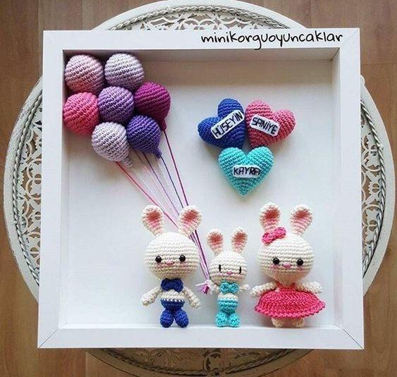 cuadro crochet regalo bebe-otakulandia.es (23)
