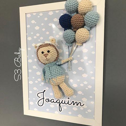 cuadro crochet regalo bebe-otakulandia.es (3)