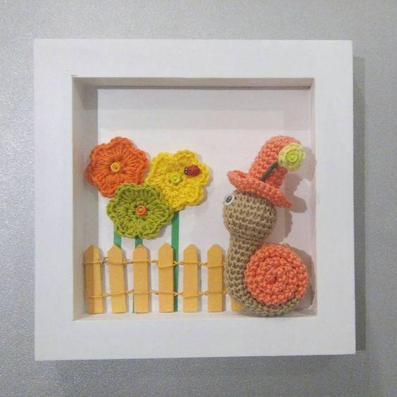 cuadro crochet regalo bebe-otakulandia.es (5)