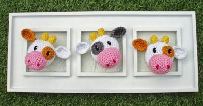 cuadro crochet regalo bebe-otakulandia.es (7)