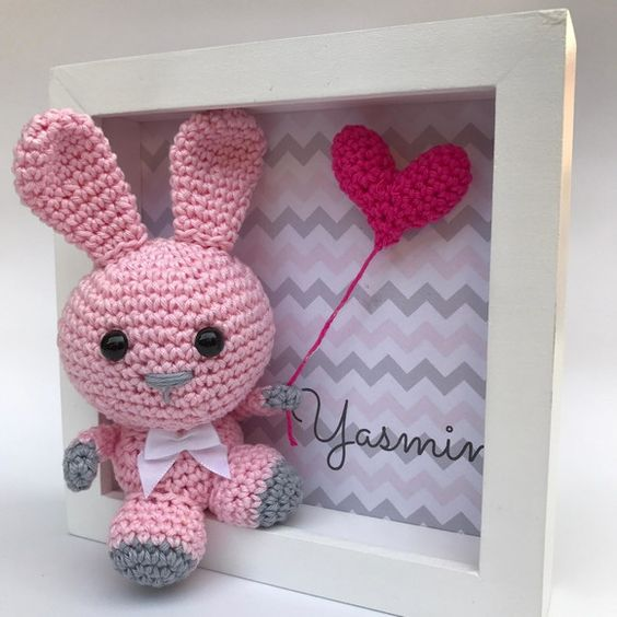 cuadro crochet regalo bebe-otakulandia.es (9)