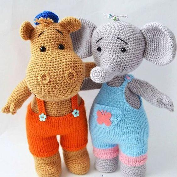 elefante bebe crochet-otakulandia.es (10)