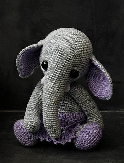elefante bebe crochet-otakulandia.es (17)