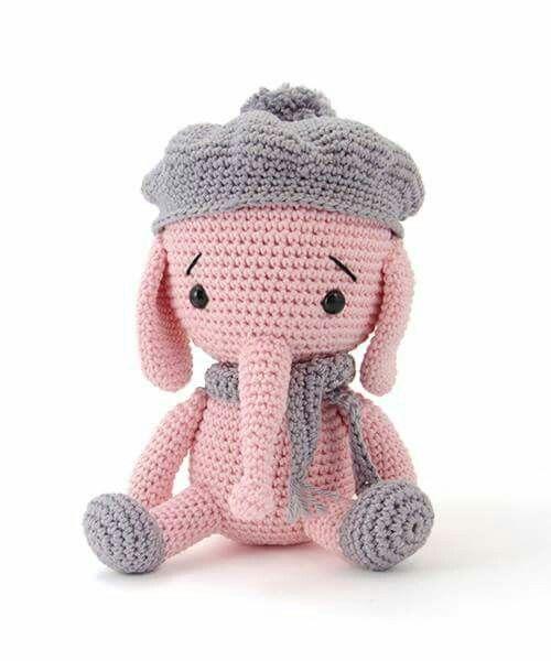 elefante bebe crochet-otakulandia.es (19)