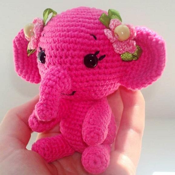 elefante bebe crochet-otakulandia.es (2)