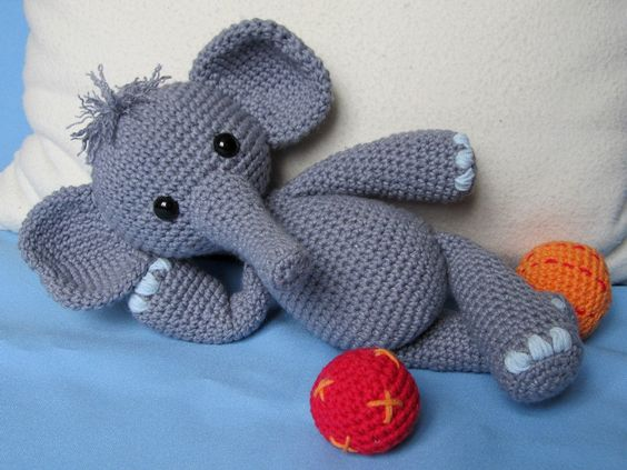 elefante bebe crochet-otakulandia.es (20)