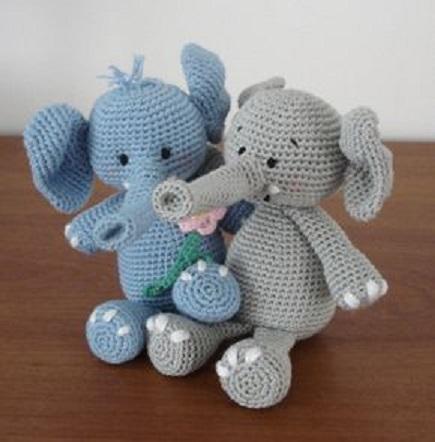 elefante bebe crochet-otakulandia.es (22)