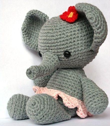 elefante bebe crochet-otakulandia.es (23)