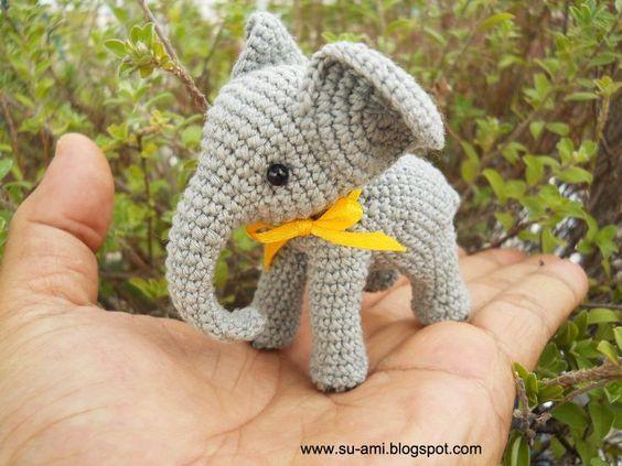 elefante bebe crochet-otakulandia.es (25)