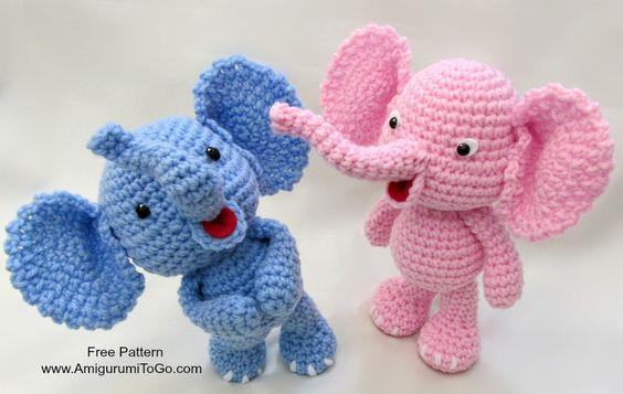 elefante bebe crochet-otakulandia.es (27)