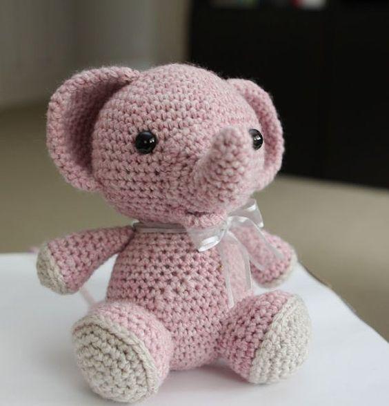 elefante bebe crochet-otakulandia.es (31)