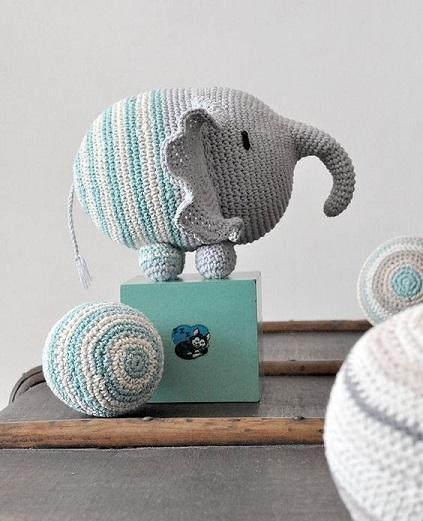 elefante bebe crochet-otakulandia.es (33)