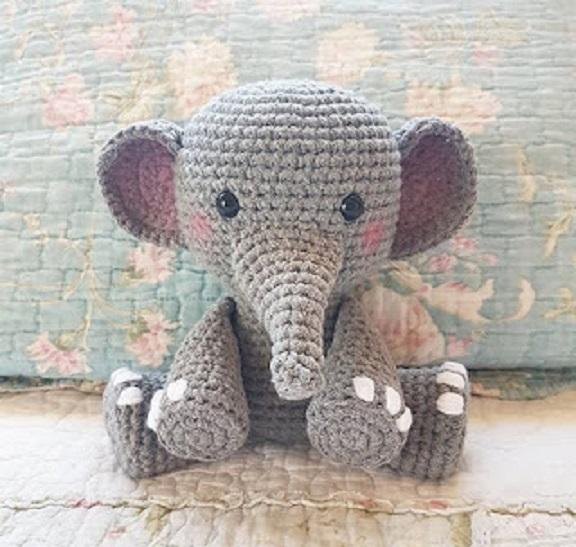 elefante bebe crochet-otakulandia.es (38)