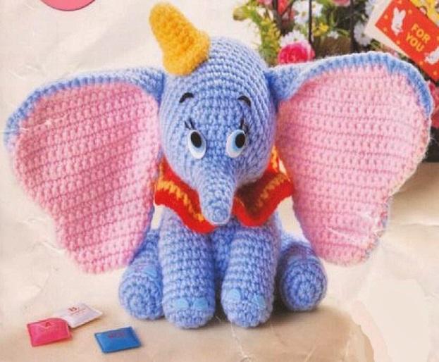 elefante bebe crochet-otakulandia.es (7)