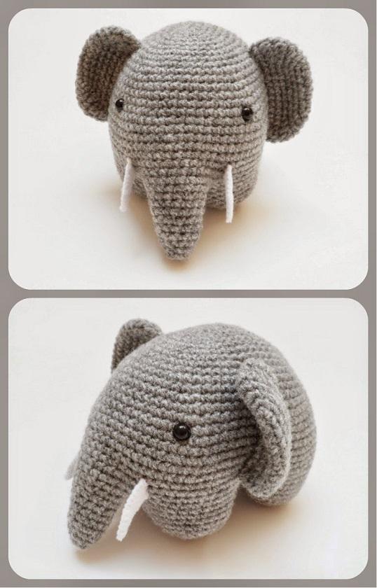 elefante bebe crochet-otakulandia.es (8)