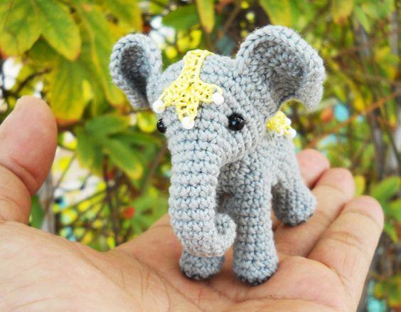 elefante bebe crochet-otakulandia.es (9)