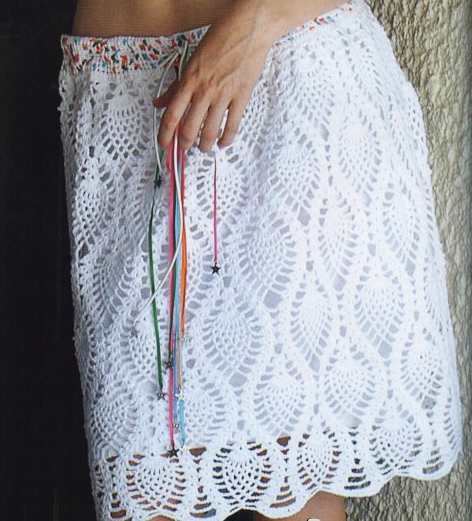 falda crochet tutorial-otakulandia.es