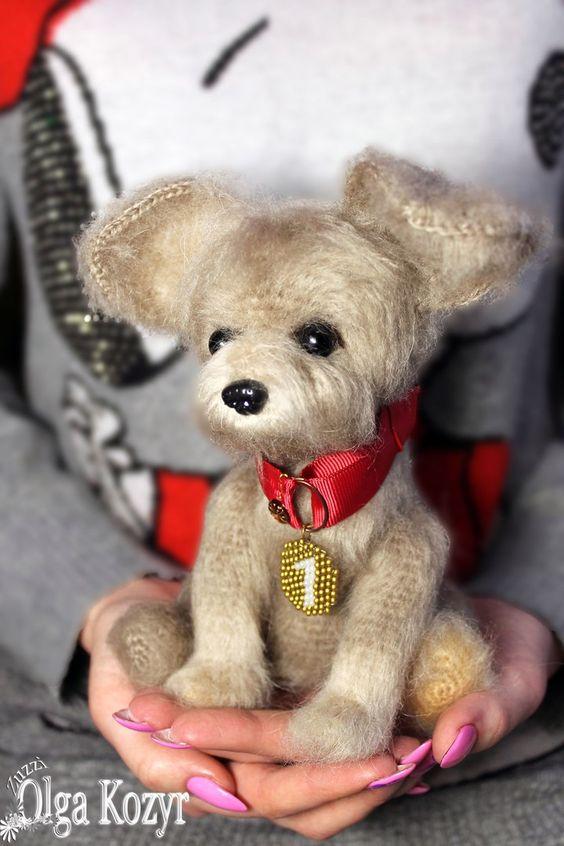 figura animal realista crochet-perro-otakulandia.es (2)